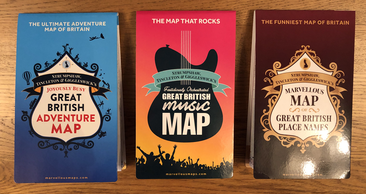 MARVELLOUS MAPS WITH ALL THE INSPIRATION