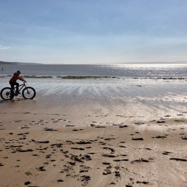 FAT BIKING IN PORTHCAWL