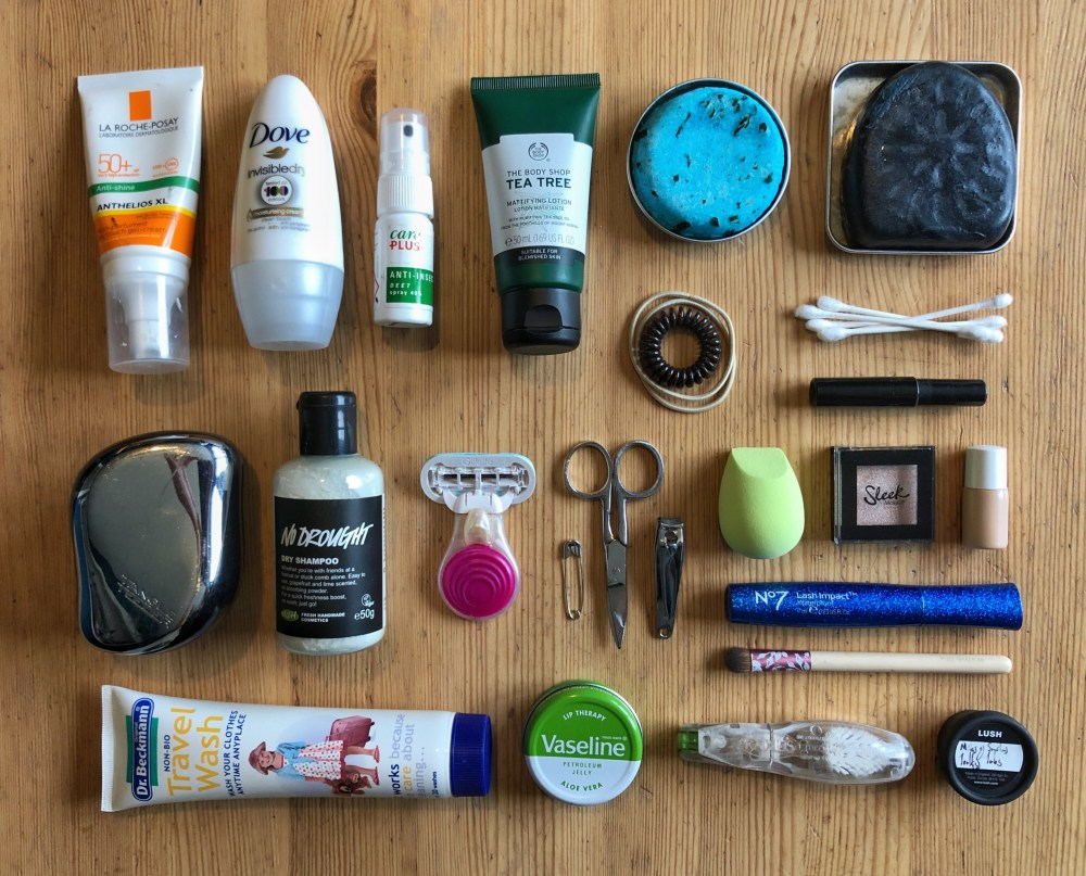 Splodz Blogz | Road Trip Travel Wash Kit