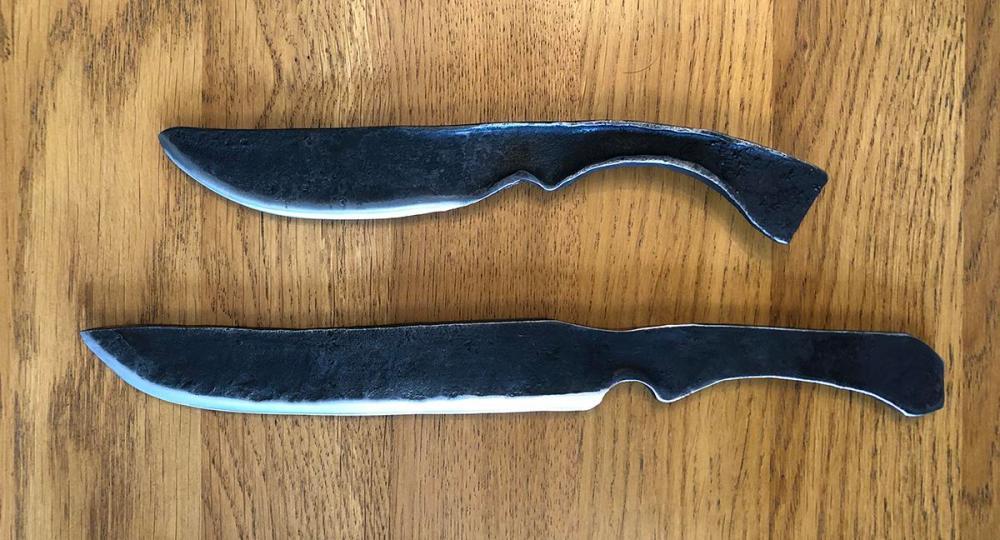 Splodz Blogz | Knife forging at Oldfield Forge