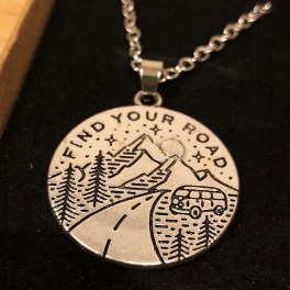 Splodz Blogz | Go Your Own Way Find Your Road Pendant