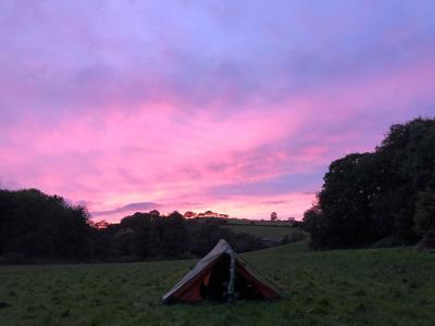 Splodz Blogz   Sunset Camping on the Brenig Way