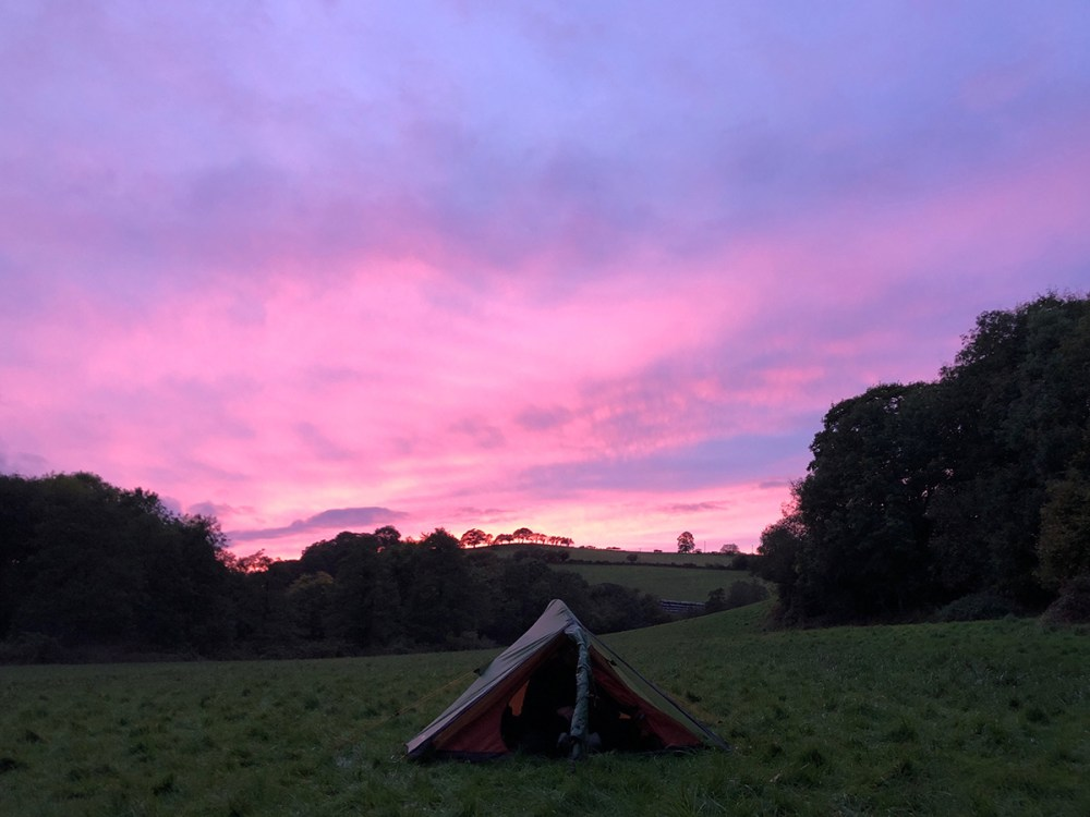 Splodz Blogz | Sunset Camping on the Brenig Way