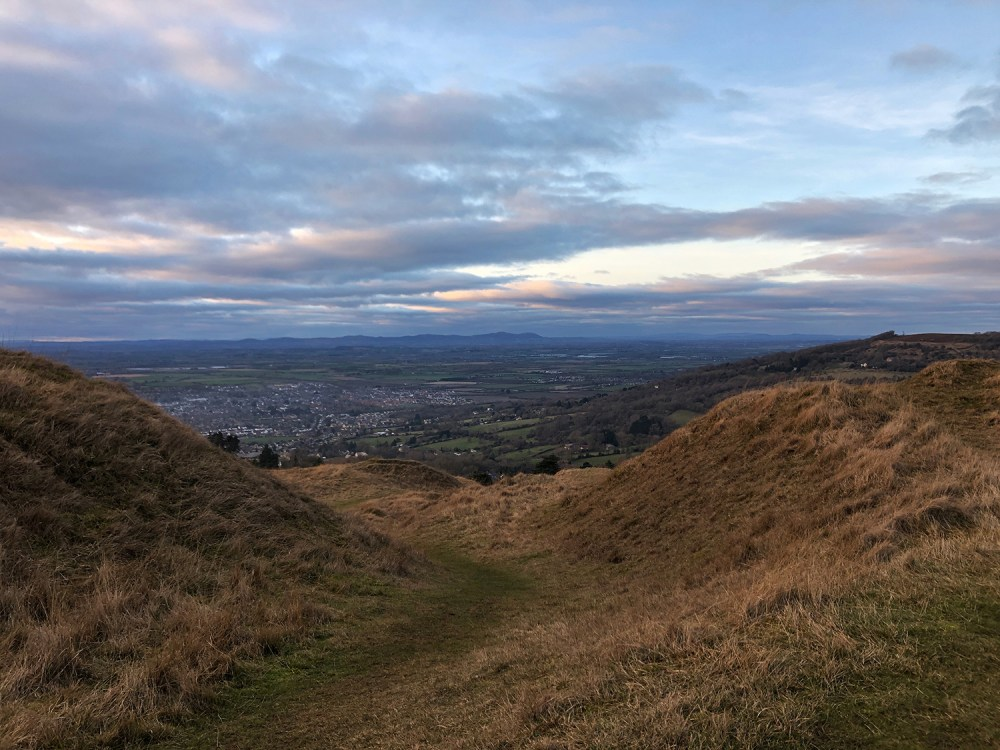 Splodz Blogz | View from Cleeve Hill, Gloucestershire