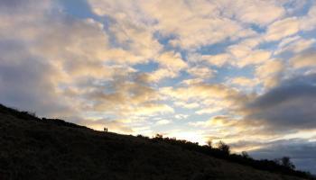 Splodz Blogz | Sunset on Cleeve Hill, Gloucestershire