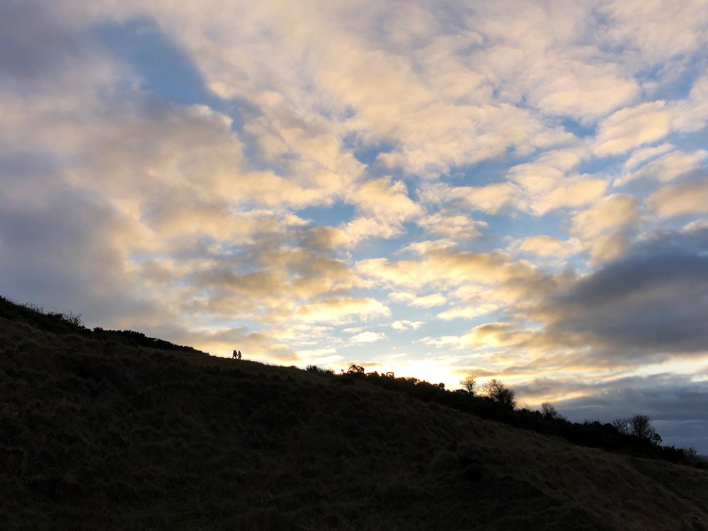 Splodz Blogz | Sunset on Cleeve Hill, Gloucestershire