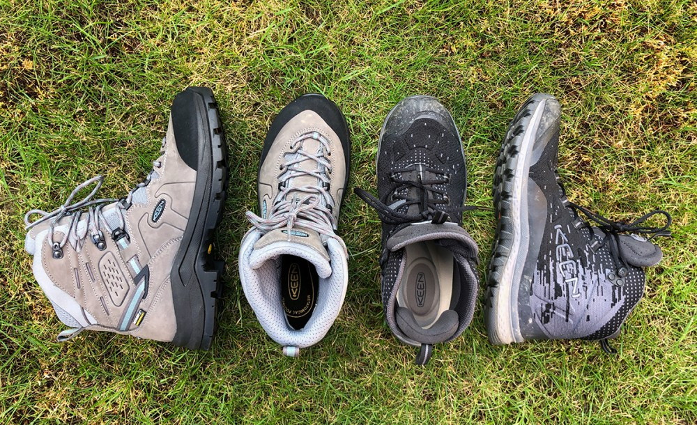 Splodz Blogz | Choosing Hiking Boots - KEEN Kerraig vs Terradora Evo