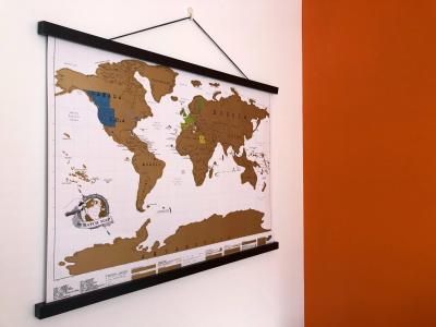 Splodz Blogz   Scratch Map Hanger