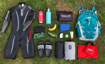 Splodz Blogz   Wild Swimming Kit Bag