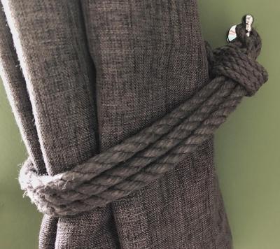 Splodz Blogz   Rope Curtain Tie Backs