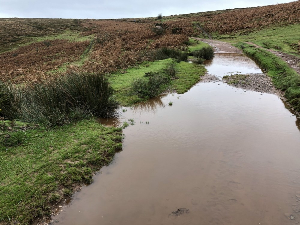 Water crossing in Holford Combe, Quantock Hills AONB