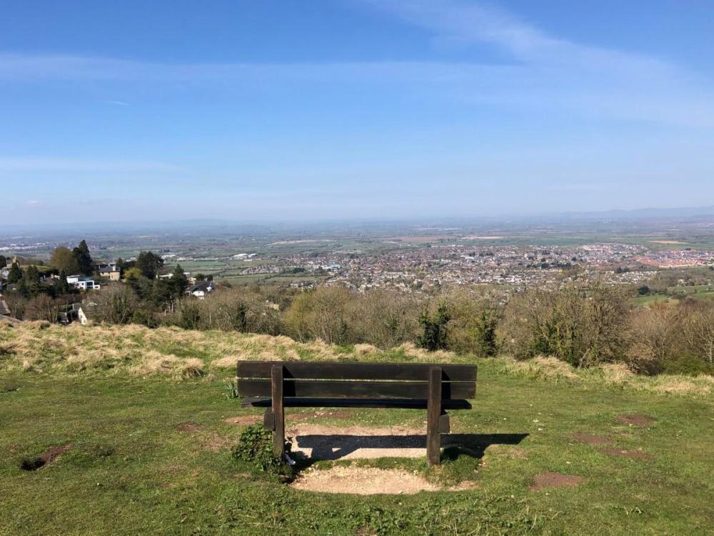 Splodz Blogz | Bench on Cleeve Hill