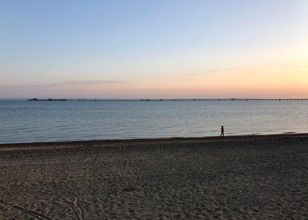 Splodz Blogz | Sunset on Southend Beach