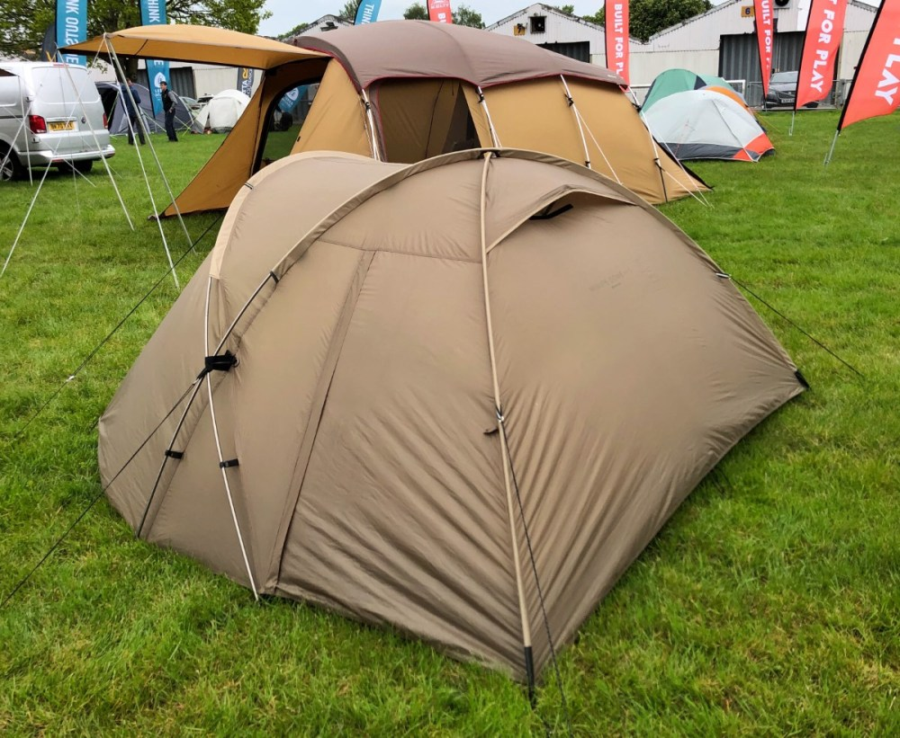Splodz Blogz | National Camping Show Snow Peak Minute Dome