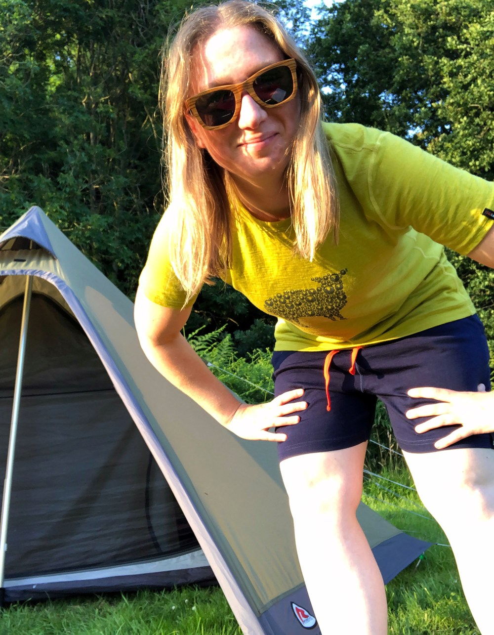 Splodz Blogz | Showing off my Isobaa Shorts and Tee
