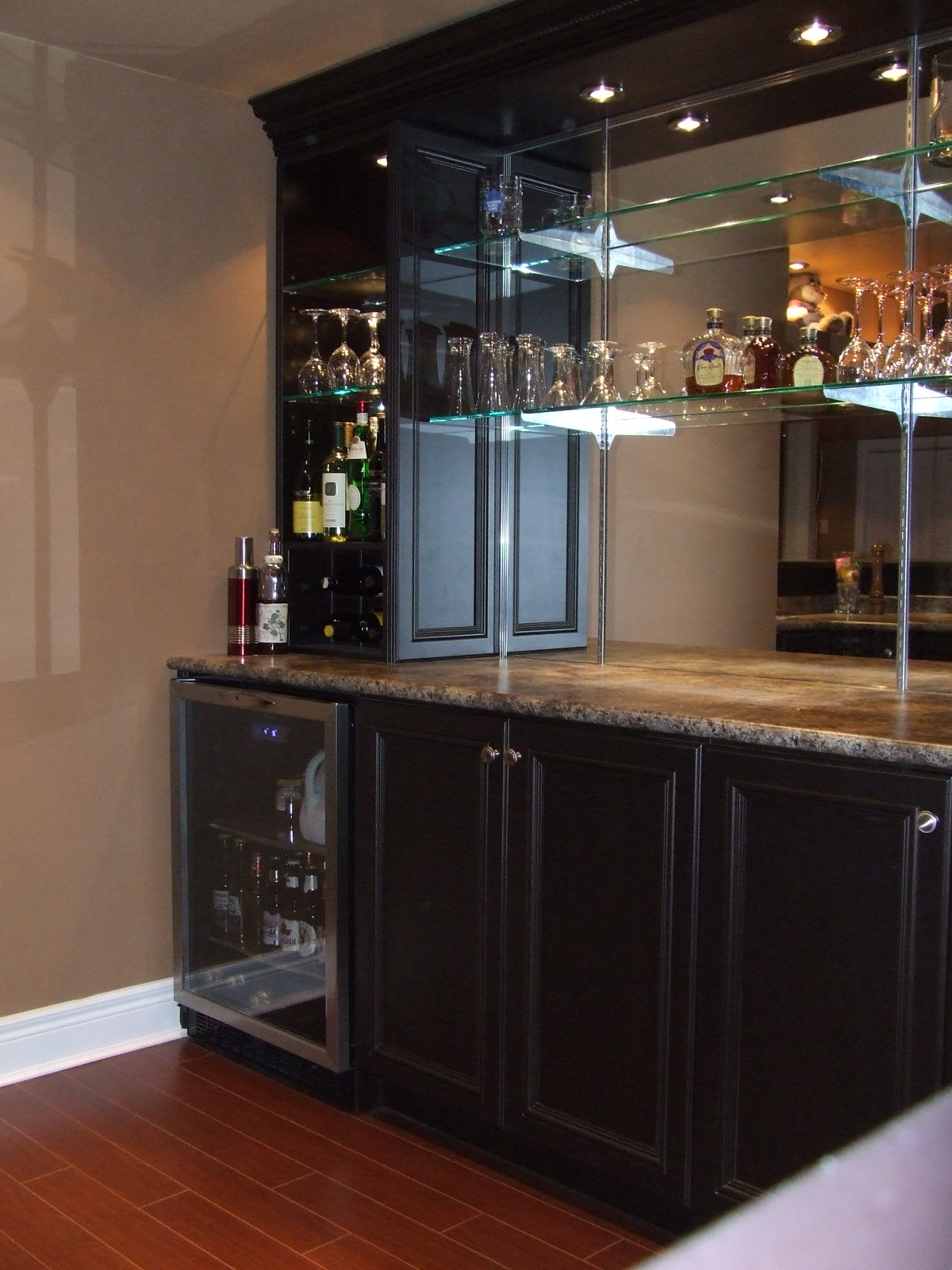 The Bar Sink Amp Dishwasher We Installed In Paul S Basement