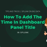 How To Add The Time In Dashboard Panel Title