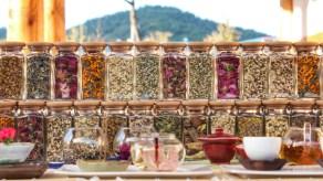 A variety of flower Tea