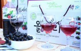 The most popular product - wild berry juice.