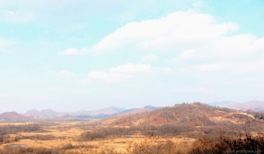 North Korea from a distance