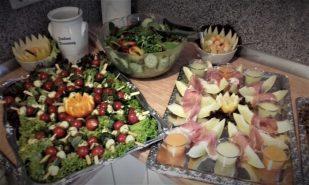 S+T Event_Catering_Salatbar_kalte Vorspeisen_Firmenfeier
