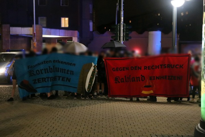 Chemnitzer Bündnis gibt Spontandemonstration zum Wahlausgang