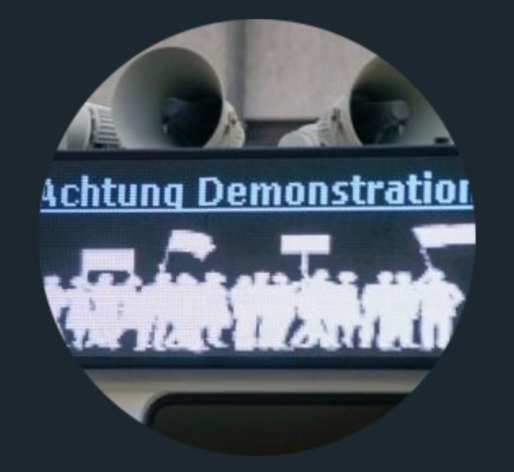 Rechte Kundgebung und Gegenproteste in Magdeburg