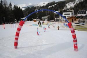 Арка для зимних соревнований