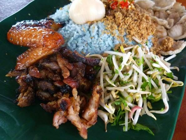 Khidmat Tempahan Katering Nasi Kerabu Bungkus Asli Kelantan Terengganu Catering Services