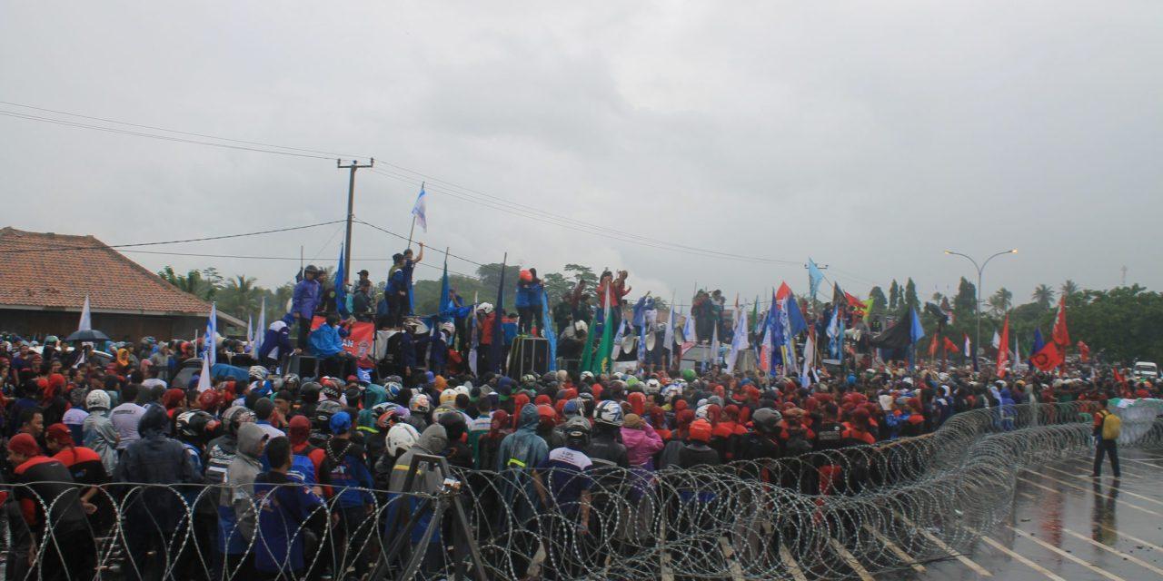 Perjuangan Buruh Banten untuk UMSK