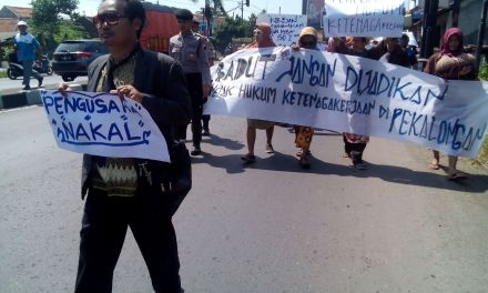 LONG MARCH SEBAGAI PROTES PSP SPN PT DUTATEX
