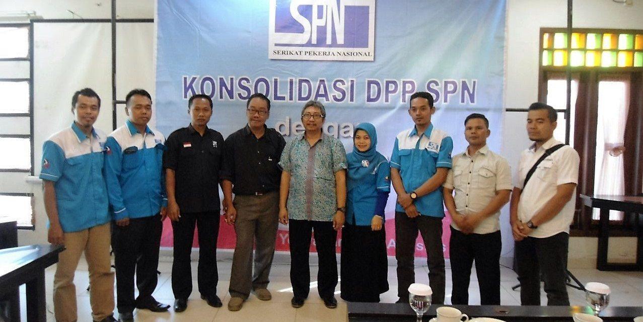 Konsolidasi DPP SPN dengan SPN se-YOGYAKARTA