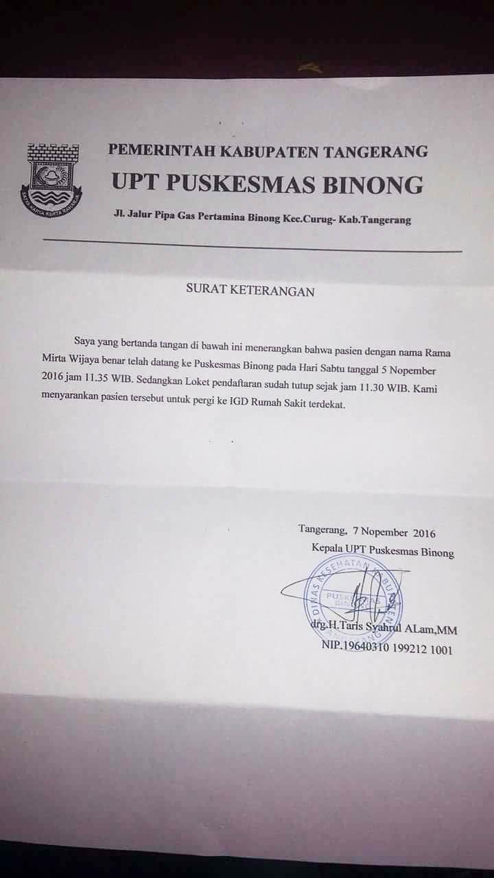 Sepak Terjang Tim Jamkeswatch Tangerang Raya Serikat