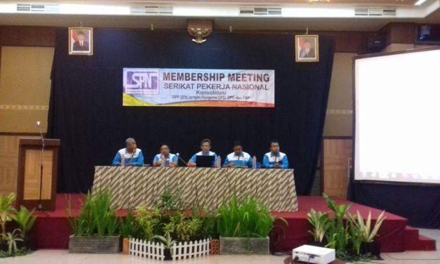 MEMBERSHIP MEETING SPN di JAWA TENGAH
