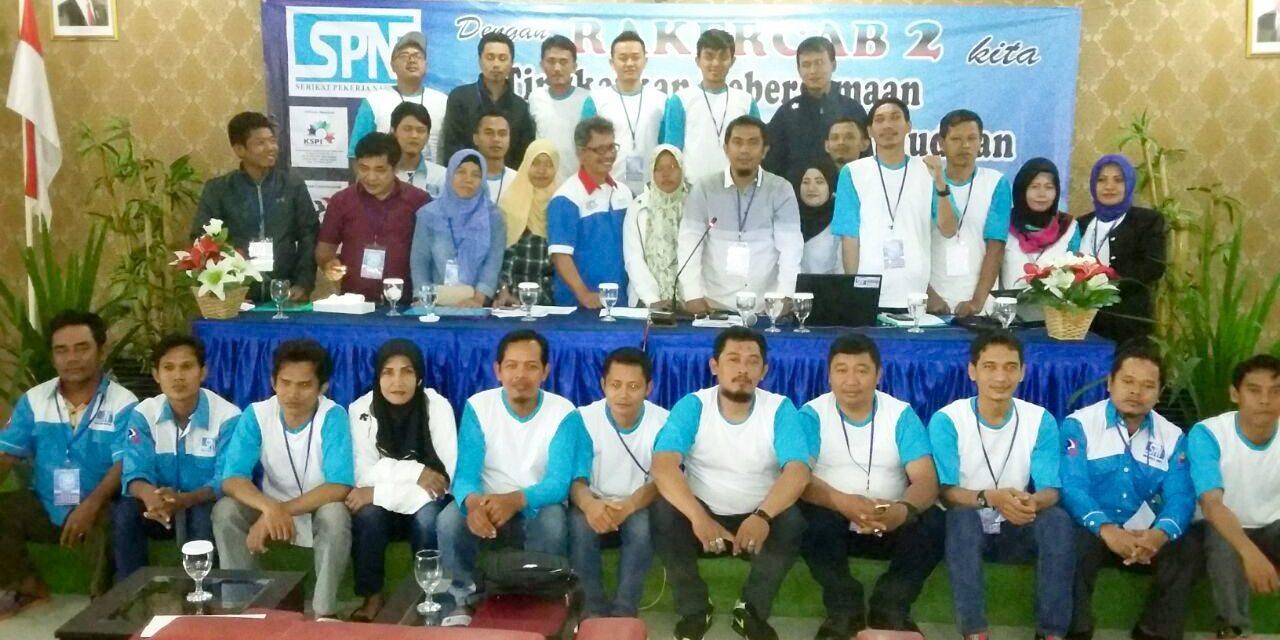 RAKERCAB II DPC SPN JAKARTA UTARA