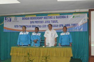 MEMBERSHIP MEETING DAN RAKERDA II SPN PROVINSI JAWA TIMUR