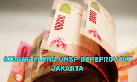 SIDANG PLENO UMSP DEPEPROV DKI JAKARTA