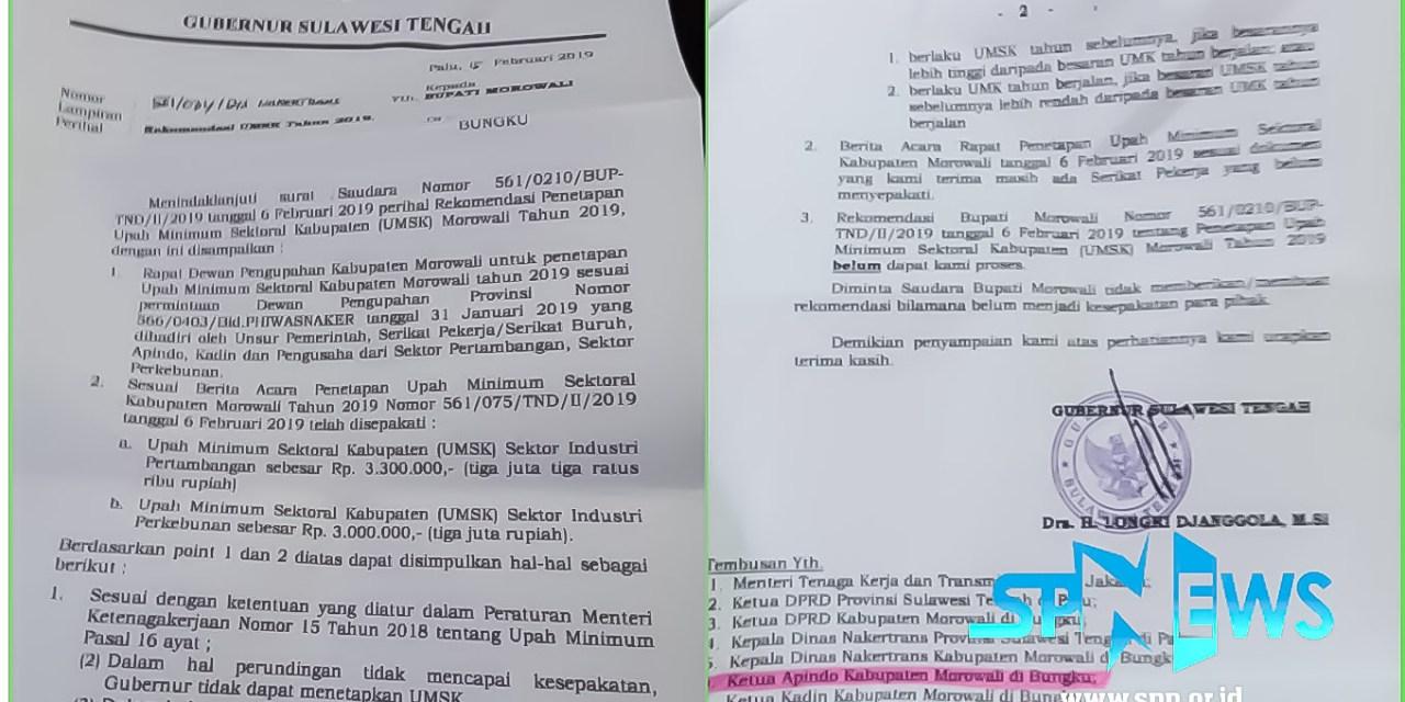 SK UMSK KABUPATEN MOROWALI TIDAK TERBIT, SPN AKAN GUGAT GUBERNUR SULTENG