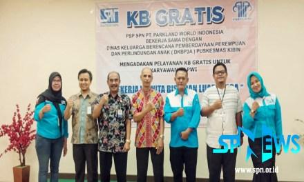 PELAYANAN KB GRATIS BERSAMA PSP SPN PT PWI 1
