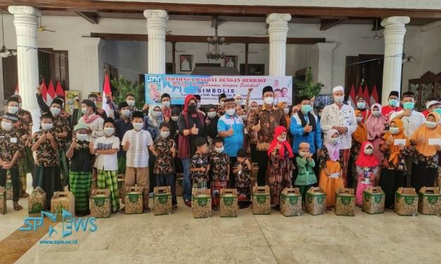 PSP SPN PT ECCO INDONESIA PERINGATI MAU DAY DENGAN SANTUNI ANAK YATIM PIATU