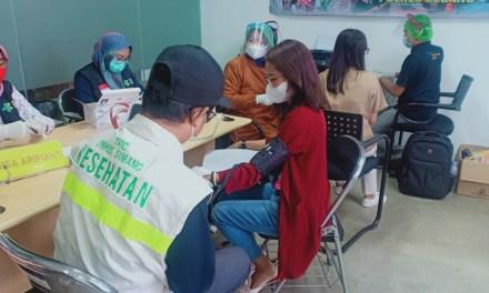 CEGAH PENULARAN COVID-19, PT PUNGKOOK INDONESIA ONE LAKUKAN VAKSINASI