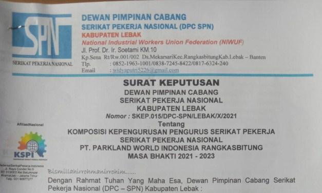 SITI DAHLIA KETUA PSP SPN PT PWI RANGKASBITUNG PERIODE 2021-2023