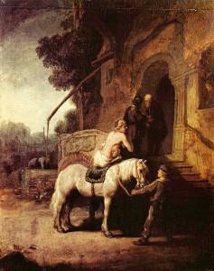 Rembrandt van Rijn, De Barmhartige Samaritaan