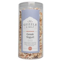 Guzzle & Wolf Popcorn - Greek Yogurt Large Tub 250g