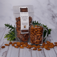 Almonds Roasted & Salted 125g