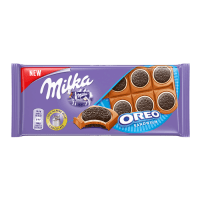 Milka Chocolate Slab - Oreo Sandwich 92g