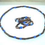 Mans Womans Stretch Wood Necklace 18″ – 16 colours