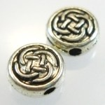 Silver Celtic Knot Beads – 3