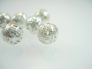 Metal Filigree Beads