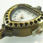 Watch Face for Jewellery – Brass Heart